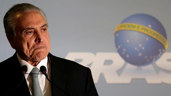 Újabb korrupciós vád a brazil elnök ellen