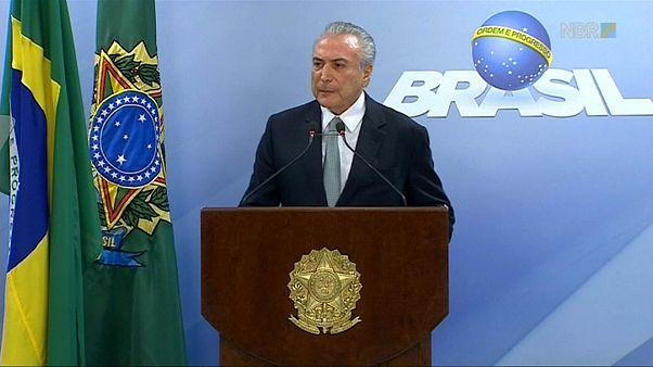 La Fiscalía brasileña acusa formalmente a Michel Temer