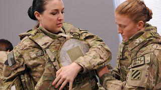Image: Women soldiers at Fort Stewart, Georgia
