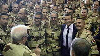 French troops will remain in Mali until militants are eradicated- Macron