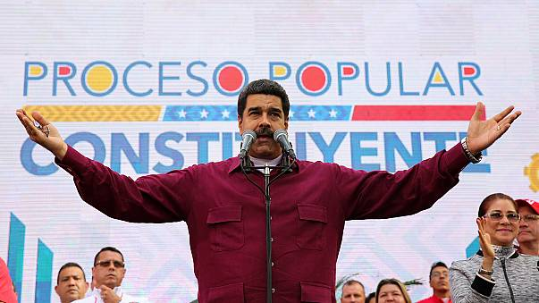 'Get your dirty hands out of here,' Venezuela's Maduro tells Trump