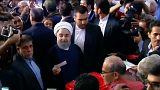 Irán: Rohaní gana a Raisí