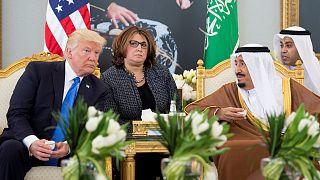 نخستین سفر خارجی ترامپ با عربستان آغاز شد