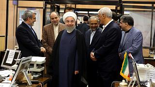 Iran: President Hassan Rouhani wins re-election