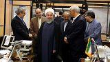 """حسن روحاني :"""" الشعب اختار طريق التوافق مع العالم"""""""