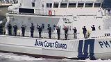 Japans Küstenwache übt wieder