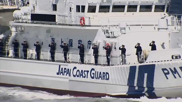 Maniobras en el Mar de Japón