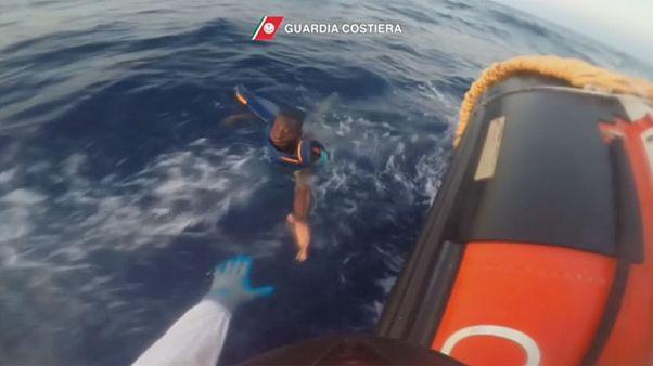 نجات پنج هزار مهاجر از دریای مدیترانه تنها در دو روز