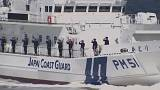 Japan coastguard resumes drills as tensions rise