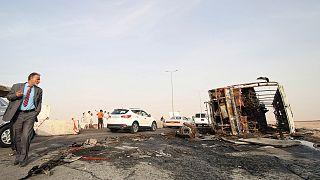 Buszt robbantott az Iszlám Állam