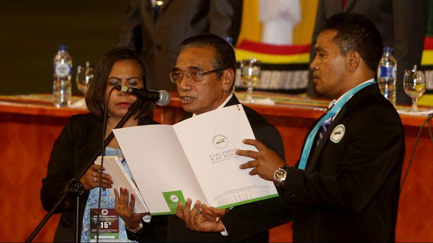 Francisco Guterres Lu'Olo toma posse como Presidente de Timor-Leste
