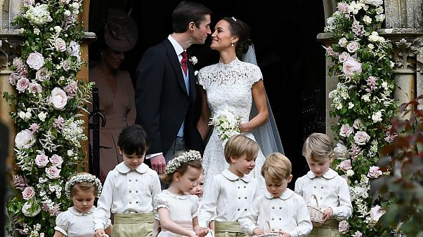 Pippa Middleton se casó con el financiero James Matthews