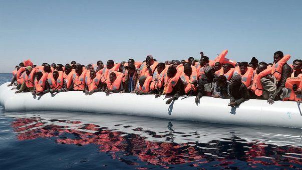 مسيرة تضامنية مع المهاجرين