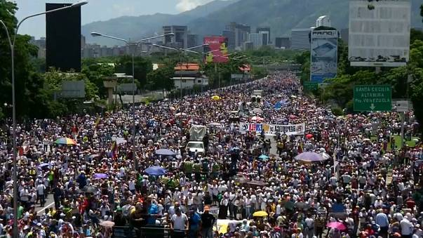 Venezuelans mark 50 days of anti-government protests