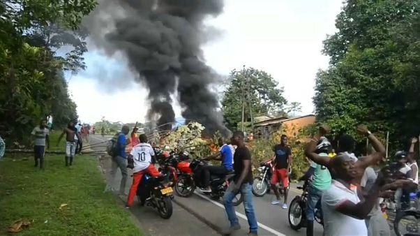 Dozens arrested as Buenaventura strike turns violent