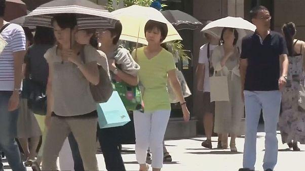 Inusual ola de calor en Japón