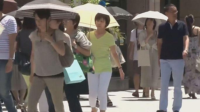 Vague de chaleur précoce au Japon