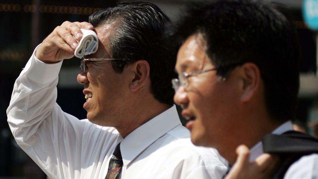 Япония во власти аномальной жары