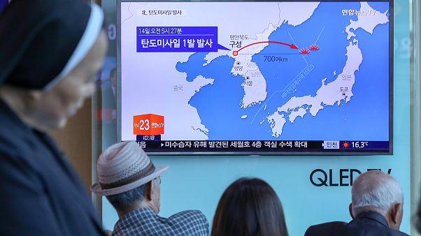La Corée du Nord a tiré un nouveau missile