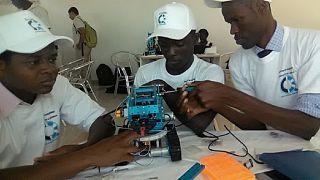 Les filles à l'honneur lors du Concours panafricain de robotique