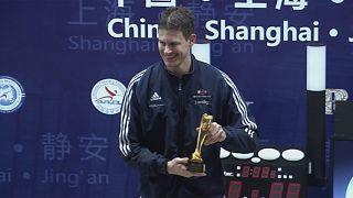 Gold für Richard Kruse beim Florett-Grand-Prix in Shanghai