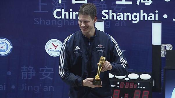 Kruse takes gold in Mens' Foil in Shanghai