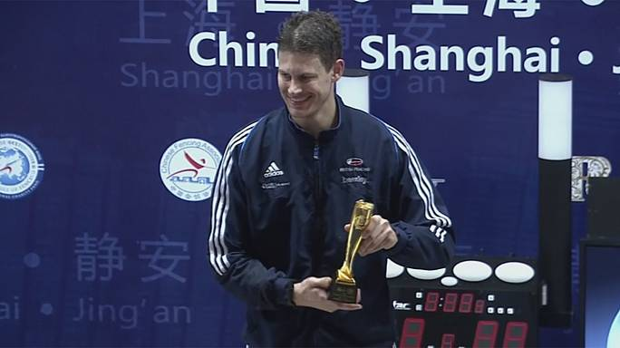Kruse takes gold in Mens' Foil in Shanghai