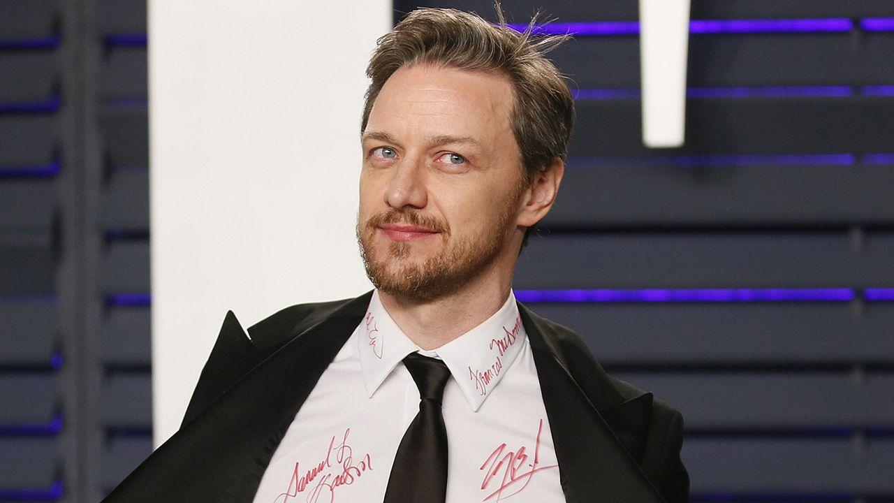 Jason McAvoy at the Vanity Fair Oscars
