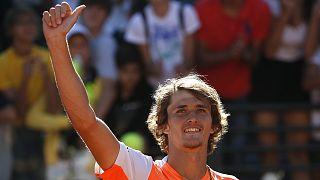 راهیابی الکساندر زورف به دیدار نهایی تورنمنت تنیس رم