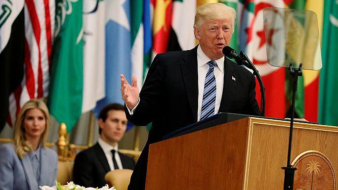 Trump a terror ellen emelt szót Rijádban