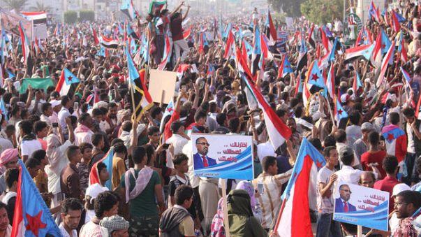 مظاهرة لأنصار انفصال جنوب اليمن في عدن
