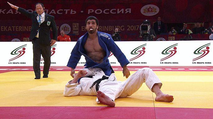 Ekaterinburg Grand Slam: Van Dijke ve Khalmurzaev güne damgasını vurdu