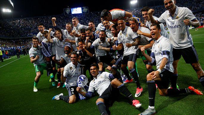 بطولة اسبانيا لكرة القدم: ريال مدريد ملكا لإسبانيا