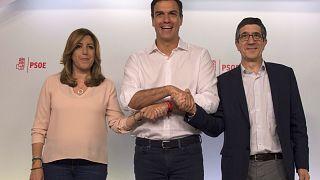 Pedro Sánchez gana las primarias del PSOE