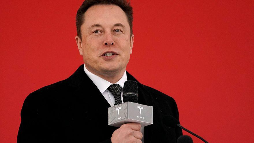 Image: Tesla CEO Elon Musk attends the Tesla Shanghai Gigafactory groundbre