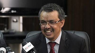 World Health Assembly Elects Tedros Adhanom Ghebreyesus as New WHO Director