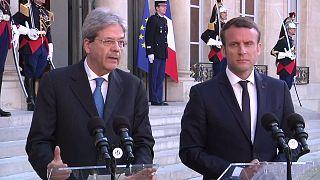 """Джентилони и Макрон договорились """"развивать ЕС"""""""
