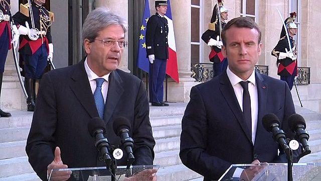 Macron ve Gentiloni'den AB reformu için ortak mesaj