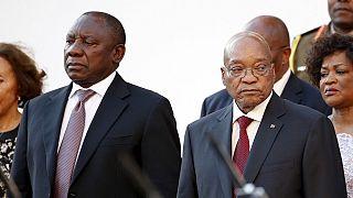 """L'Afrique du Sud ne doit pas devenir un """"Etat-mafia"""", dit son vice-président"""