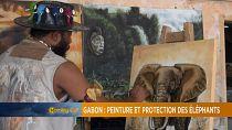 Gabon : l'art pour promouvoir la protection des éléphants de forêt