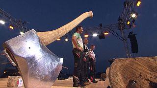 Brad De Losa gana el Trofeo de Campeones STIHL Timbersports