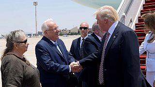 Donald Trump inicia visita a Israel