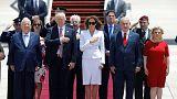 Il presidente Trump arriva in Israele