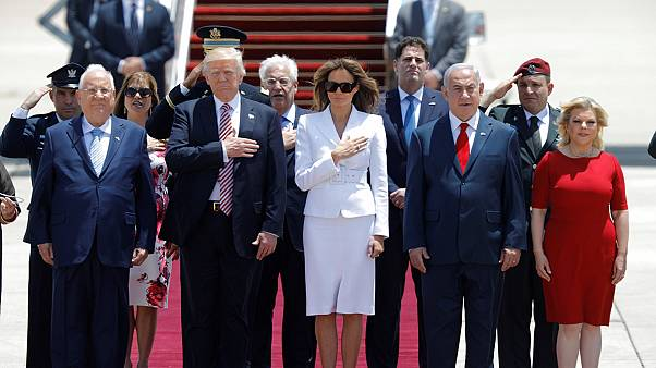 Trump touches down in Israel in search of the 'ultimate deal'