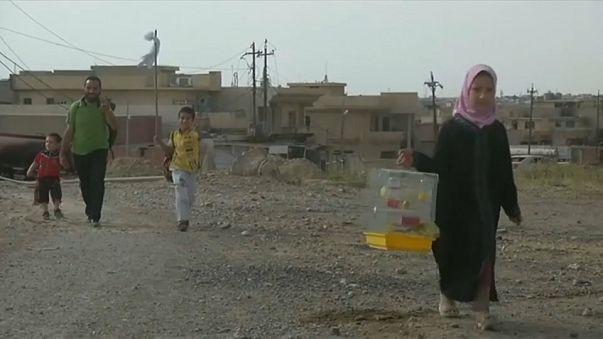 نزوح من الموصل والقوات العراقية تستعد لاقتحام حي النجار