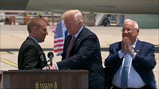 """ترامب يشيد بالروابط """"الصلبة"""" مع اسرائيل"""