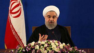 پوشش زنده نشست خبری حسن روحانی