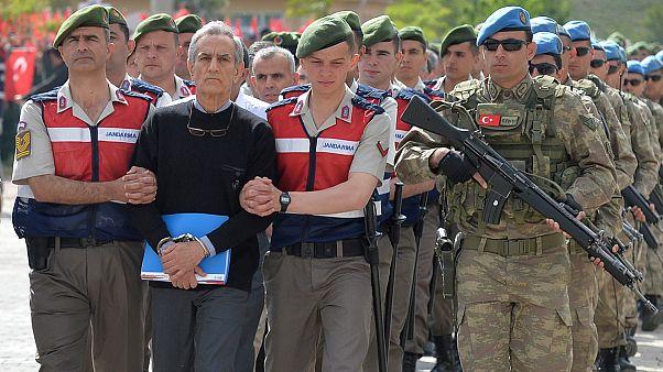 دادگاه مظنونین مرتبط با کودتای نافرجام ترکیه آغاز شد