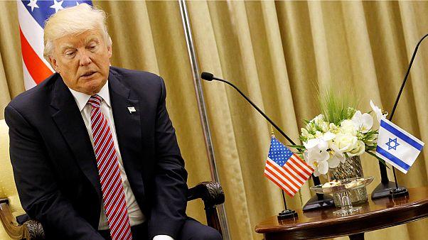 Trump llama a la paz a israelíes y palestinos en una visita histórica a Israel