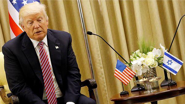 """""""Un  effort renouvelé pour la paix entre Israéliens et Palestiniens"""" (Trump)"""